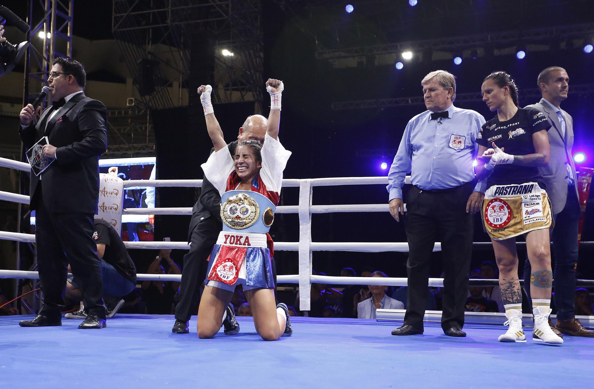 Joana Pastrana Pierde Su Corona Mundial De Boxeo Ante: Boxeo: Joana Pastrana Pierde A Los Puntos Su Título
