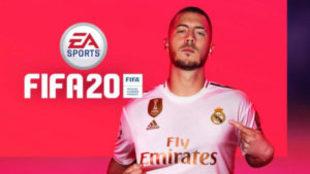 Eden Hazard será el nuevo protagonista de la portada de FIFA 20