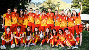 La selección española.