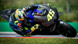 Valentino Rossi, con la Yamaha 2020.