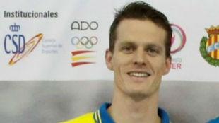 Moritz Berg, ganador de los 100 m libre en los Nacionales de verano.