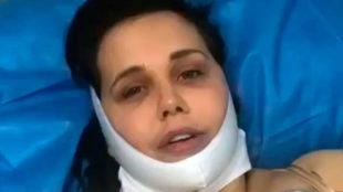 Miriam Sánchez tras pasar por quirófano para recuperar su figura