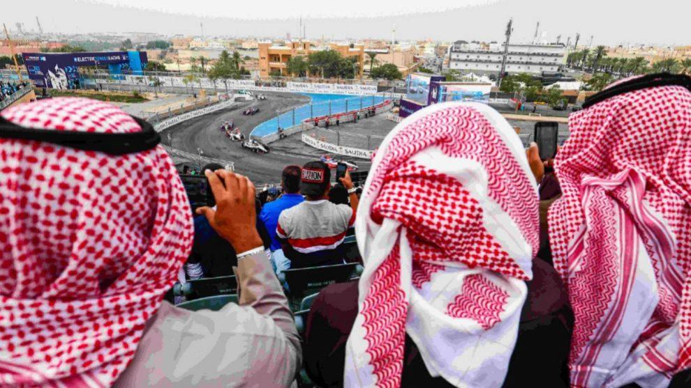 ePrix de Arabia Saudí en Fórmula E.