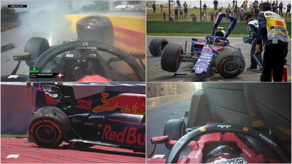 Fotografías de EFE, AFP y F1.