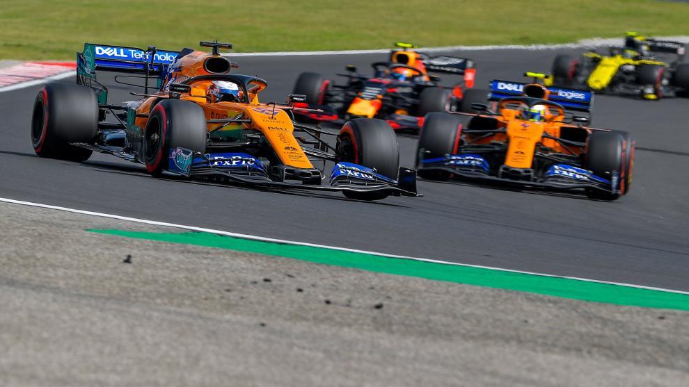 Sainz, quinto en Hungría.