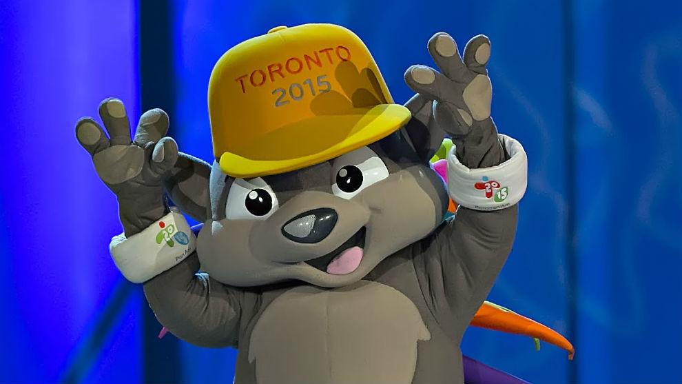 Mascota oficial de Toronto 2015