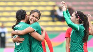 La selección mexicana femenil se despide con goleada.