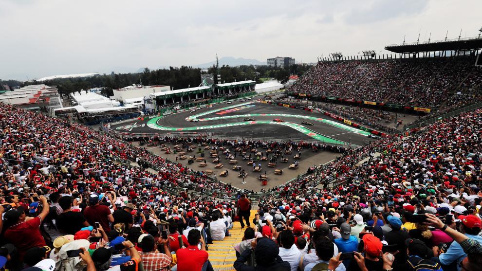 La Fórmula 1, en México.