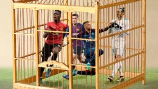 Neymar, Pogba, Coutinho y Bale encerrados en una jaula