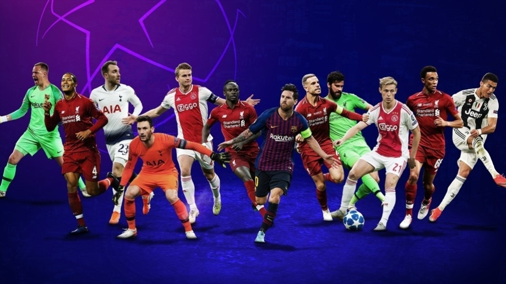 Messi está ternado como mejor delantero de la pasada Champions League