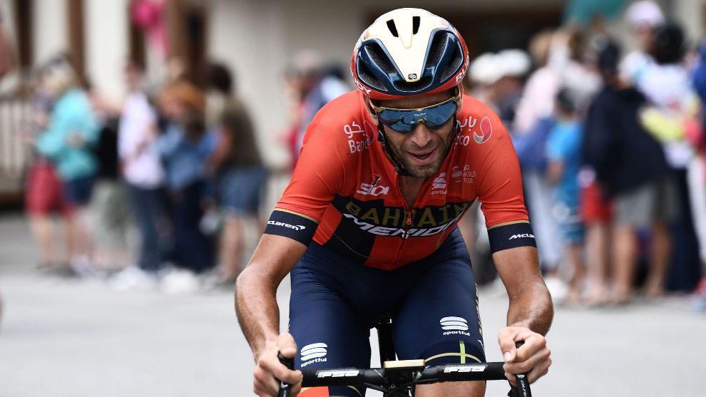 Vincenzo Nibali, en el Tour de Francia.