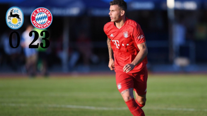Okyere Wriedt scores treble for Bayern in 23-0 pre-season win