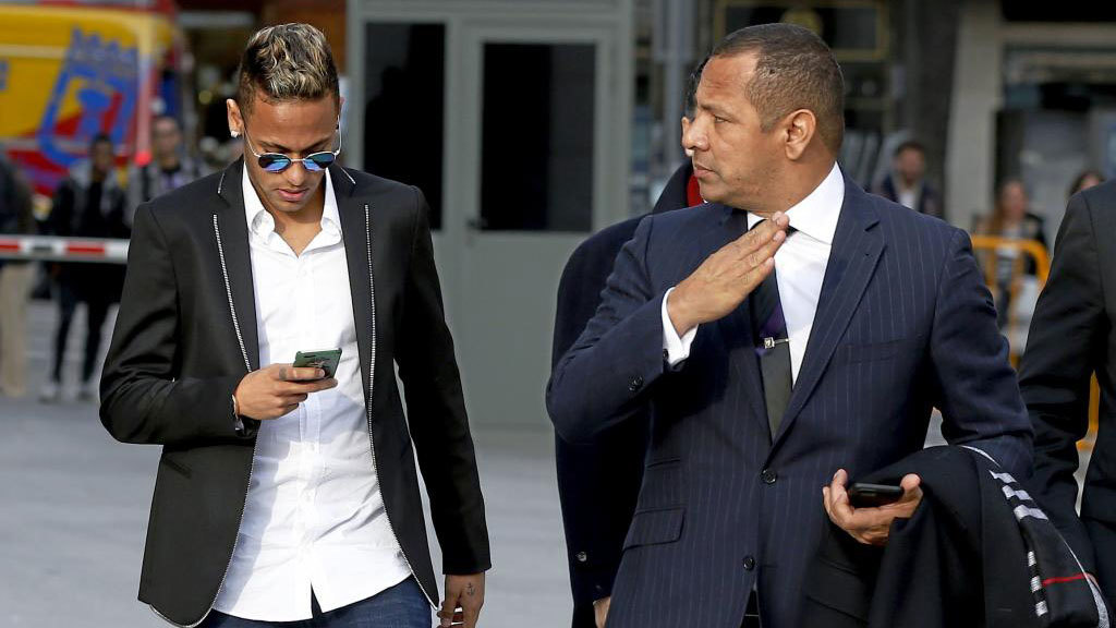 Neymar's father sends message of thanks to Brazilian prosecutor