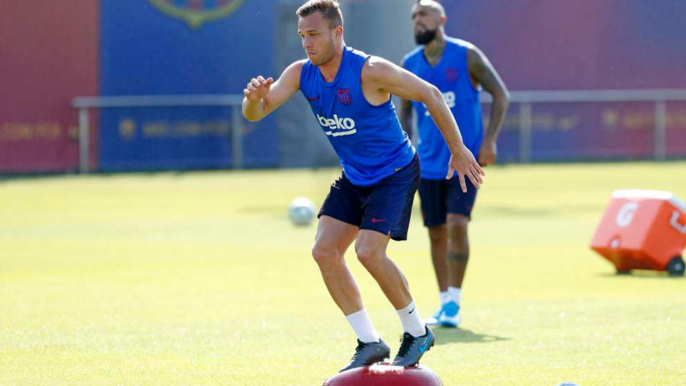 Image result for Arthur Melo  training
