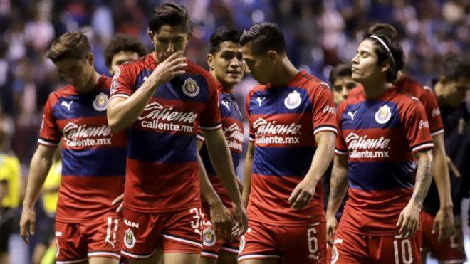 Chivas en el Estadio Cuauhtémoc