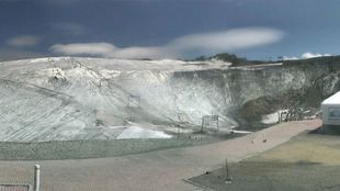 El glaciar francés de la Girose (Les 2 Alpes) tenía que cerrar el 25...