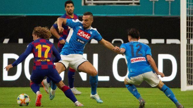Barcelona vs Nápoles - 10/08/2019 - 23:00 horas - Vamos - TV3 -...