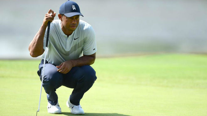 Tiger Woods, en la primera jornada del The Northen Trust.