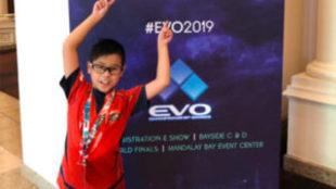 Tsuyoshi, de 9 años, pasó la primera ronda del torneo de Dragon Ball...