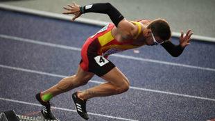 Óscar Husillos en el Campeonato de Europa de Berlín del pasado año.