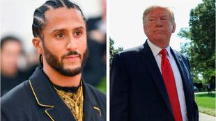 Kaepernick y Donald Trump