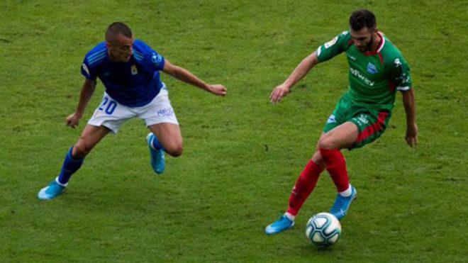 Imagen del Oviedo-Alavés disputado este sábado en Avilés.