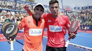 Pablo Lima y Ale Galán.