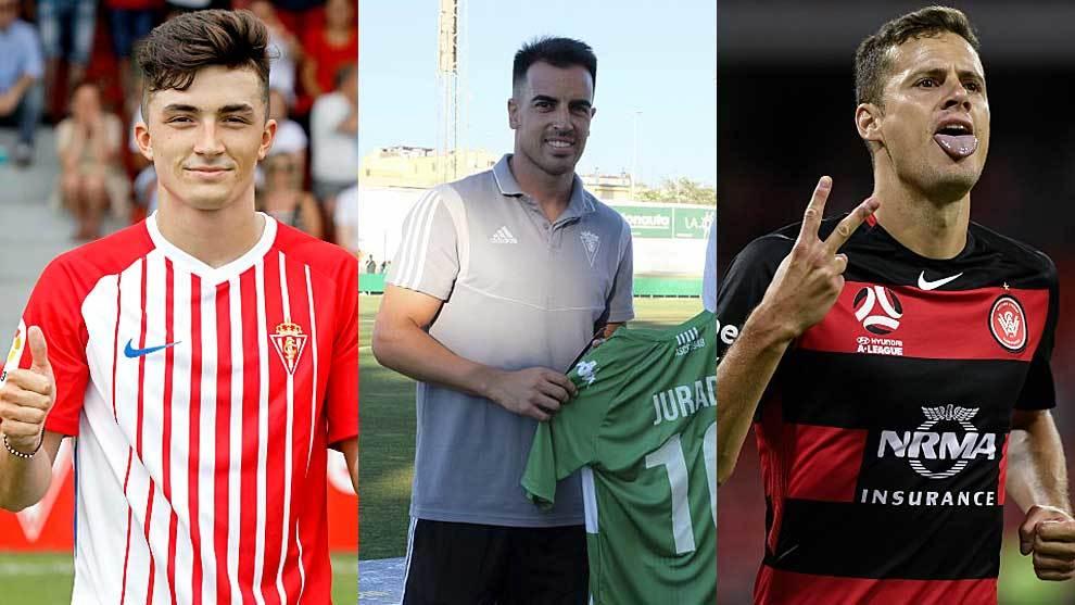 Manu García en Gijón, Jurado en Cádiz y Oriol Riera con el Sidney...