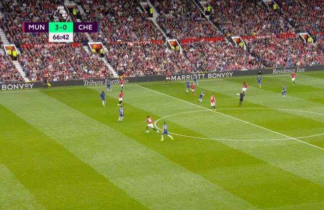 Manchester United 4 - 0 Chelsea: Resultado, resumen y goles