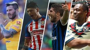 La lista de goleadores se sigue nutriendo con elementos mexicanos