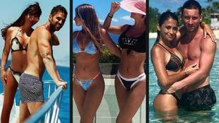 Antonela Roccuzzo y Daniella Semaan, esposas de Messi y Cesc...