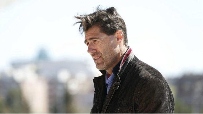 Raúl Chapado, durante una entrevista