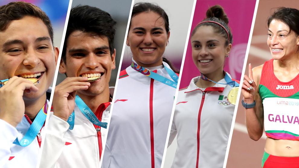 Los atletas recibirán 40 mil pesos por cada medalla de oro.