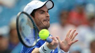Andy Murray, durante un encuentro en Cincinnati