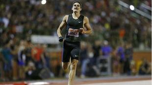 Bruno Hortelano, en competición