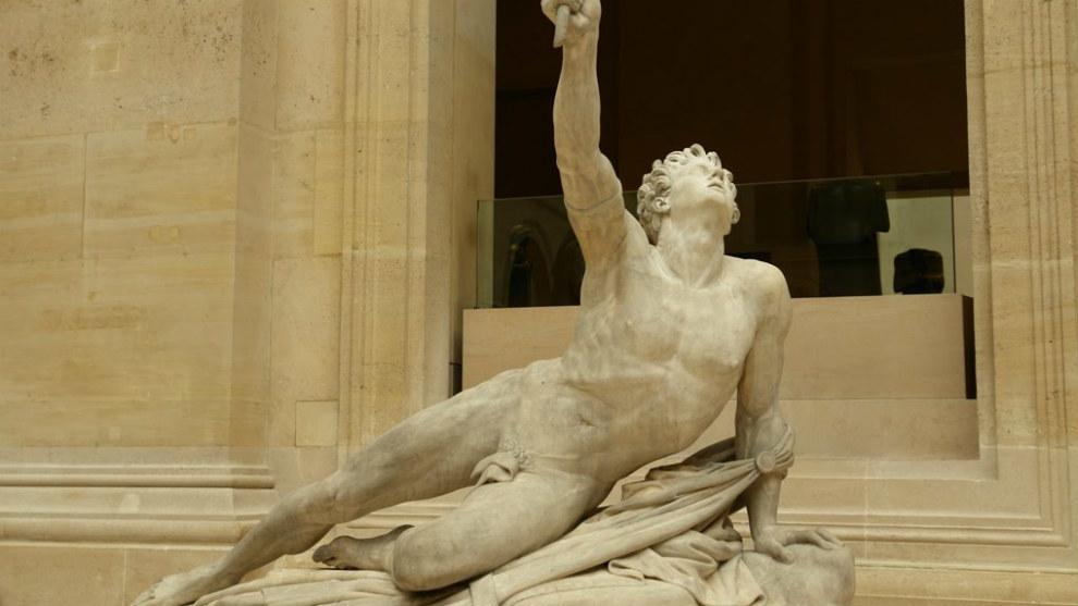 El soldado de Maratón. Jean Pierre Cortot. Museo del Louvre