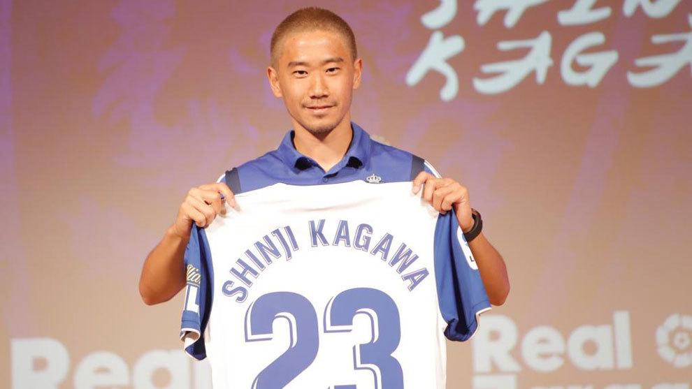 Presentación oficial de Shinji Kagawa como nuevo jugador del...