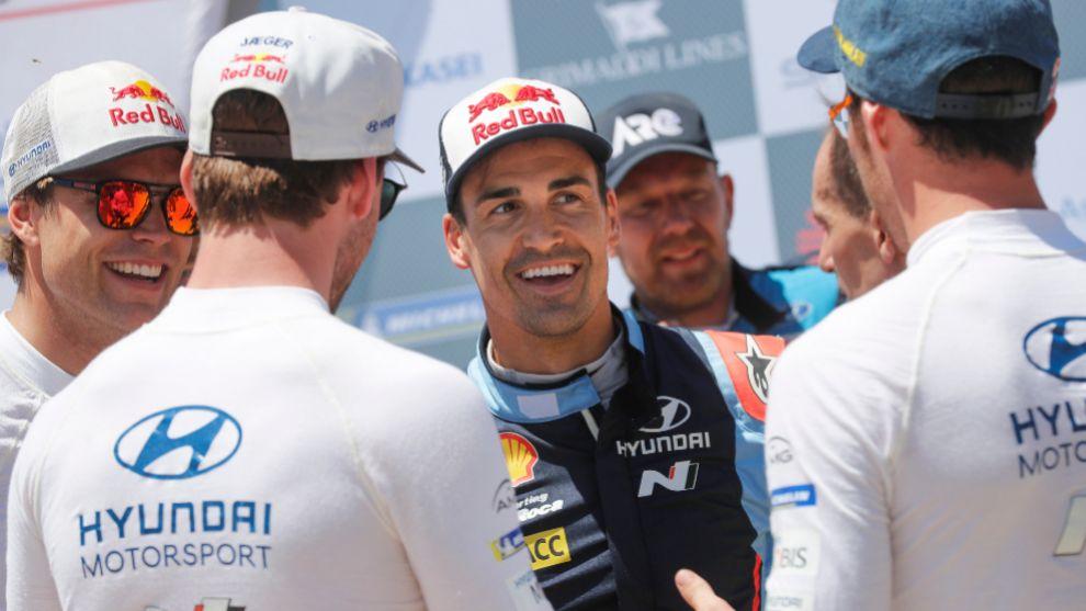 El español formará equipo con Neuville y Mikkelsen en las dos...