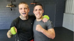 Kerman Lejarraga y Brian Castaño.