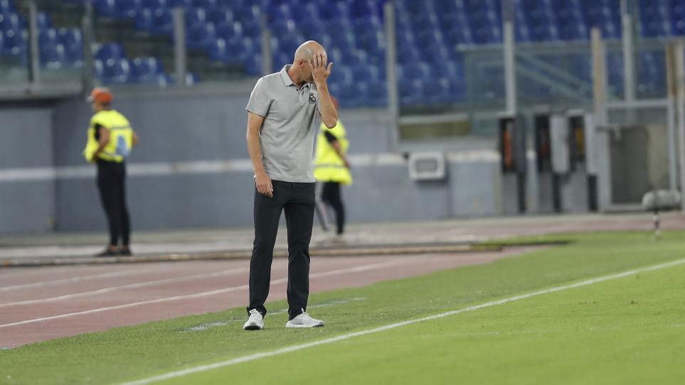 El momento más complicado de Zidane