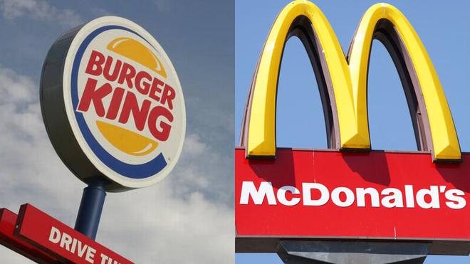 McDonald's, seguido de Burger King, lidera las apps de comida a...