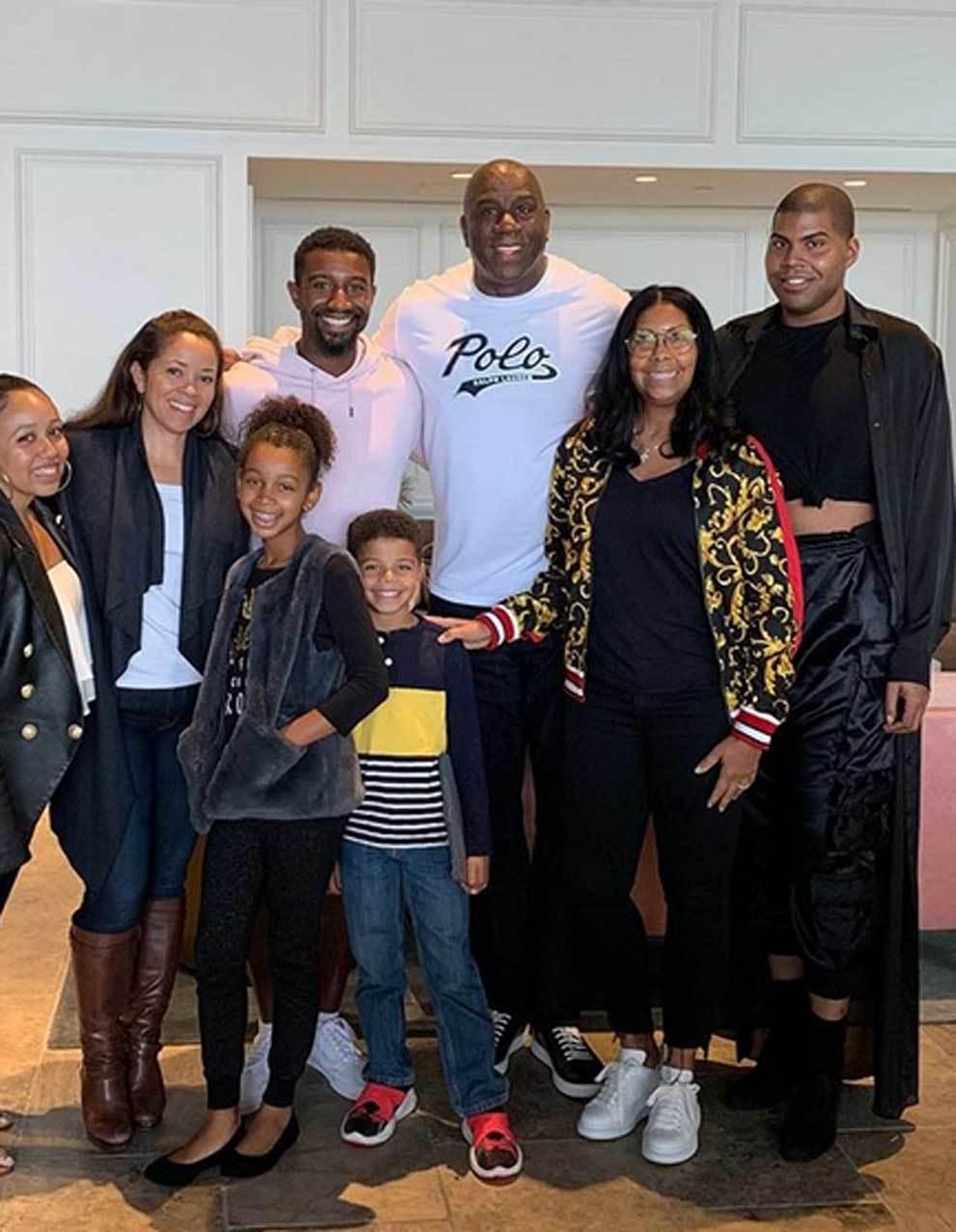 Magic Johnson 60 éves lett: így él az NBA mítosz családjával