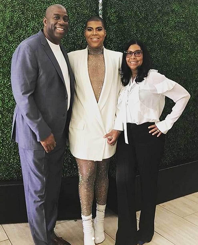 Magic Johnson 60 éves lesz: Így él az NBA mítosz feleségével Cookie és médiafia, EJ Johnson mellett