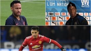 Neymar, Balotelli y Alexis Sánchez...