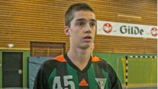 Pablo Urdangarín, en su etapa en el TSV Burgdorf