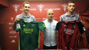 Prestación oficial de Joao Costa y Cristian Gonzáles.