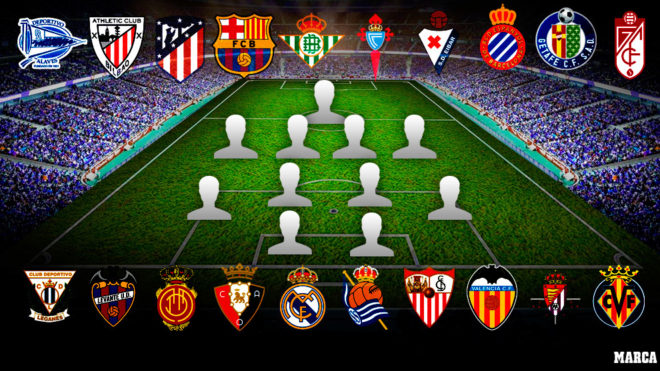Laliga The Best Xi From Every Laliga Santander Side As The New Campaign Starts Marca In English
