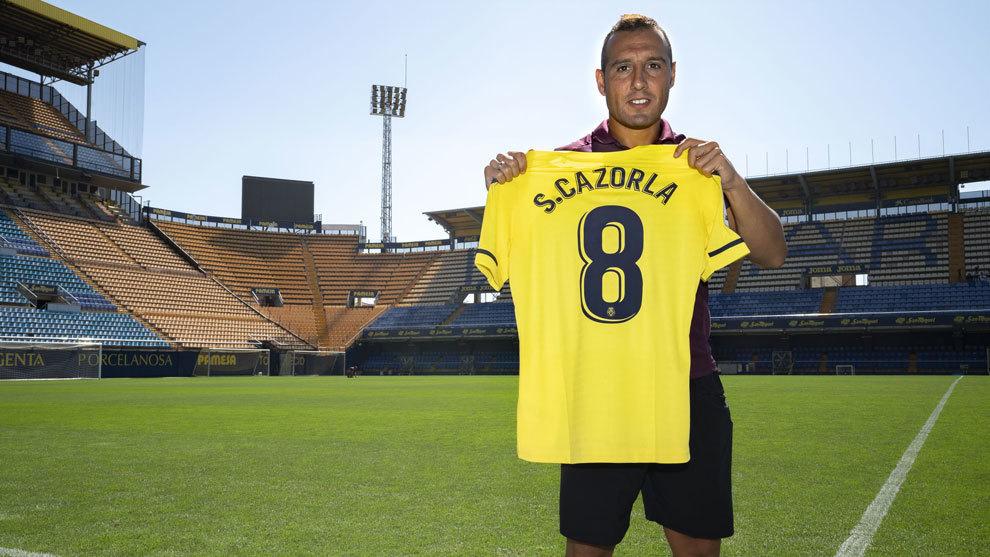 Santi Cazorla, luce su nuevo dorsal.