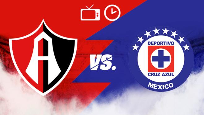 Atlas vs Cruz Azul: Horario y dónde ver por TV