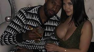Paul George y Daniela Rajic